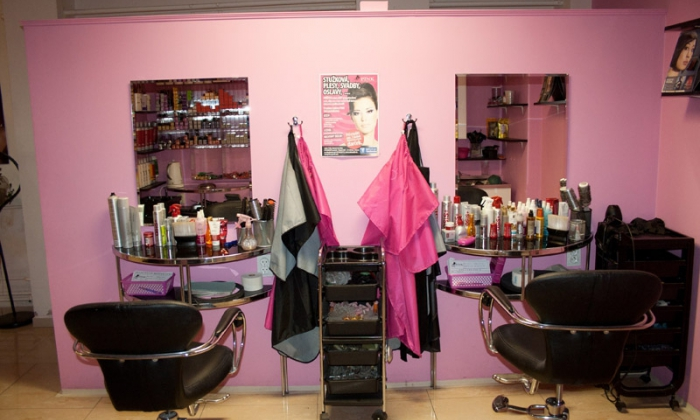 2c163350d Salón krásy Pink Nitra - kadernícke služby
